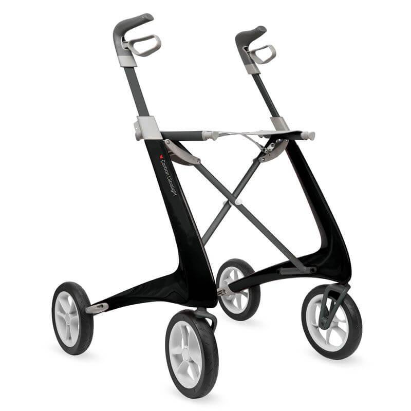 Byacre Carbon Ultralight Rollator Black