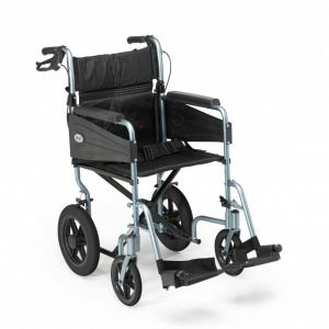 Days Escape Lite Transit Wheelchair Silver Blue