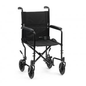 Drive Steel Travel Chair Black