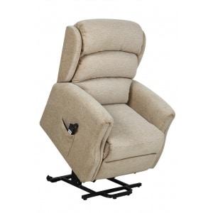 Wilmslow Dual Motor Riser Recliner Chair Beige