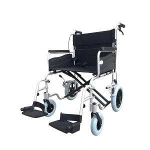Z-Tec Alu Wide Heavy Duty Aluminium Transit Wheelchair