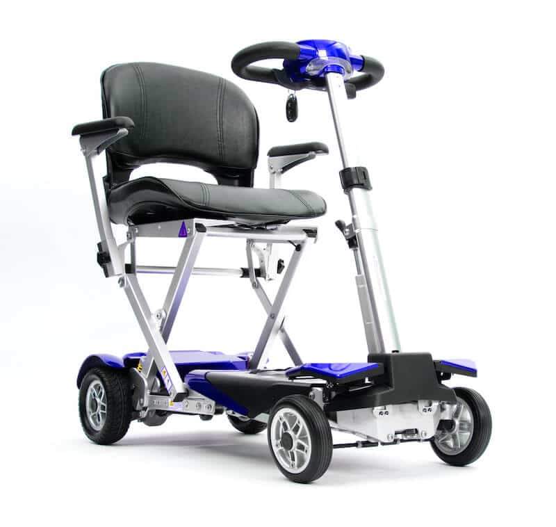 Autofold Elite Auto Folding Mobility Scooter Blue
