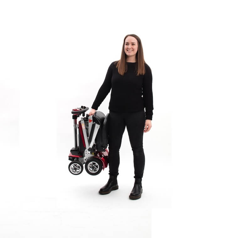 Autofold Elite Auto Folding Mobility Scooter Carried