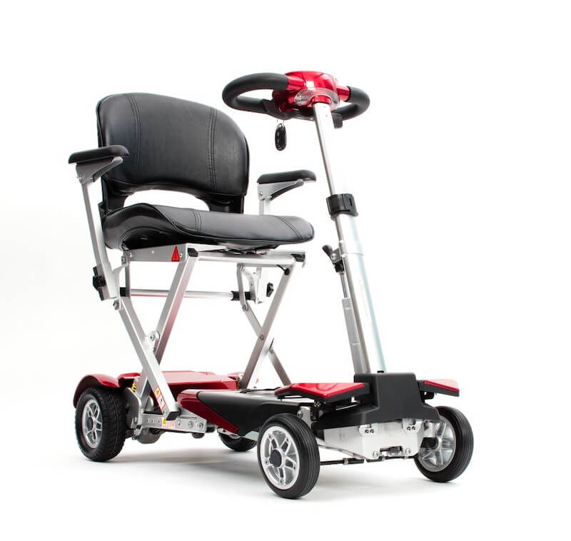 Autofold Elite Auto Folding Mobility Scooter Red